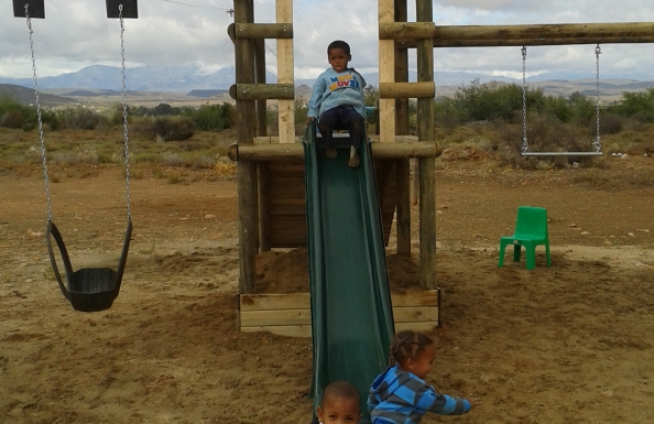 Thank-you for the donation of Brand New Jungle Gym!